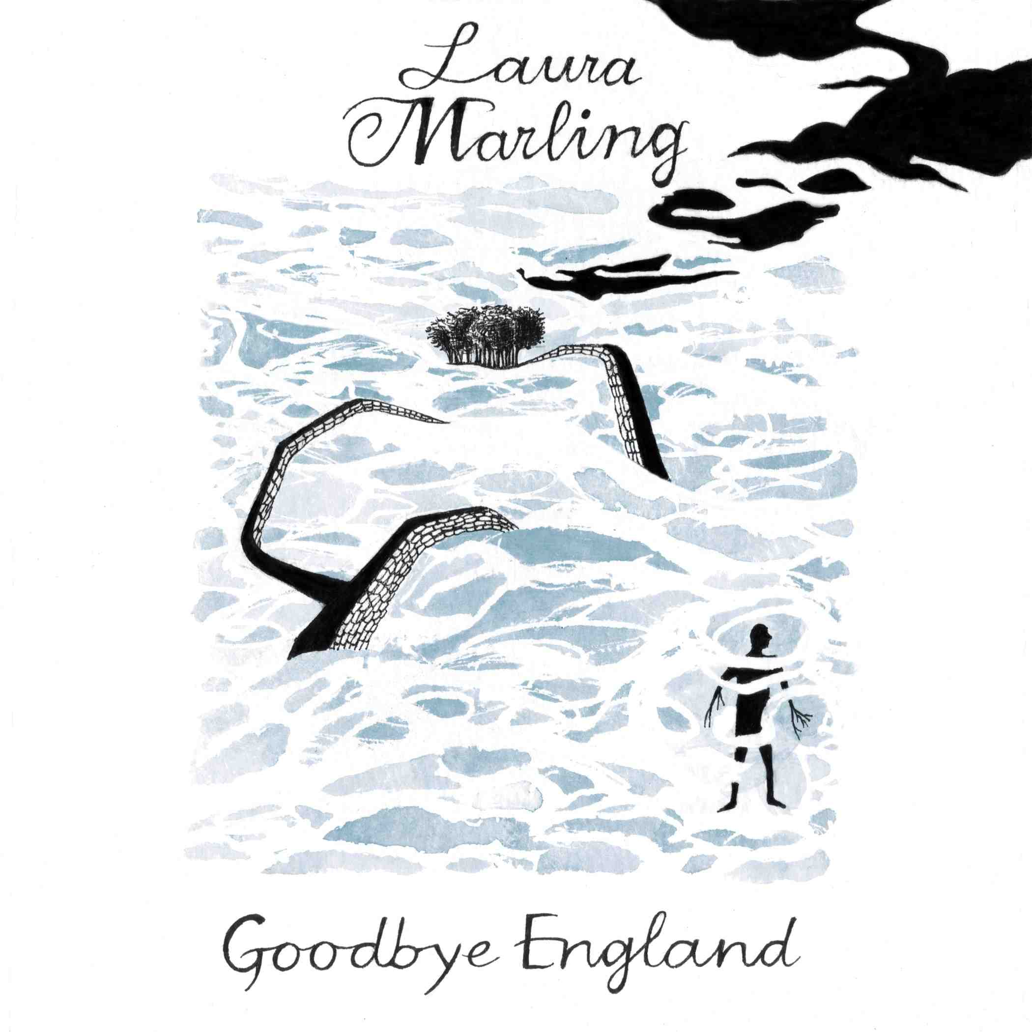 Cover art for Laura Marling's Goodbye England released